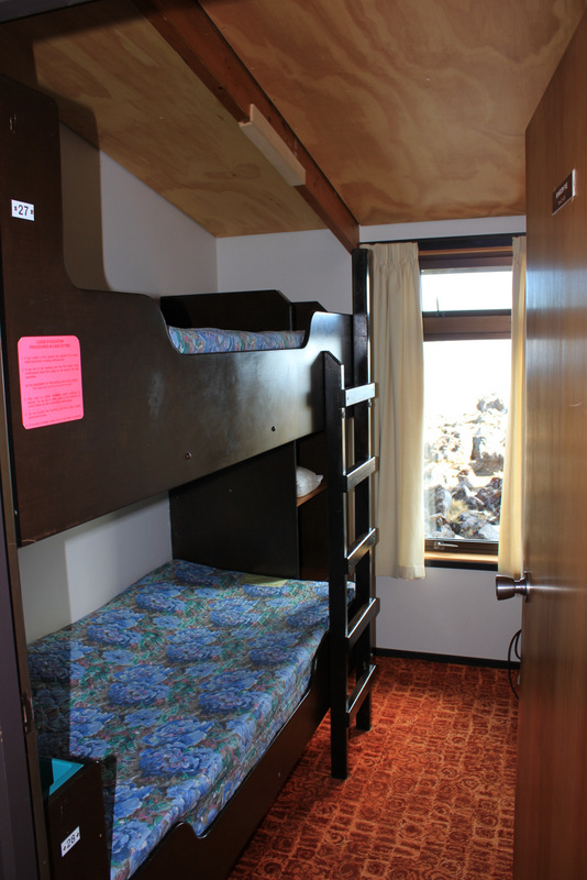 photo of bunk room in lodge