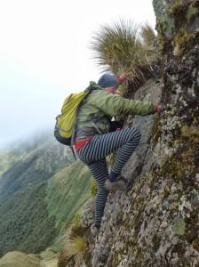 climbing broken axe