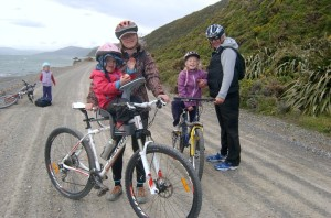 family cycle trip