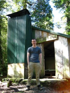 Tim at Cone Hut
