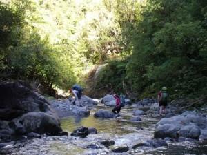 crossing the ohau