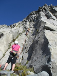 Mike on trad