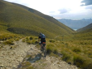 Fantastic downhill to Lake Ohau