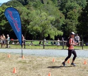 Louise's speedy finish