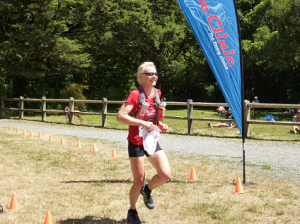 And then crosses the finish line with hat in hand
