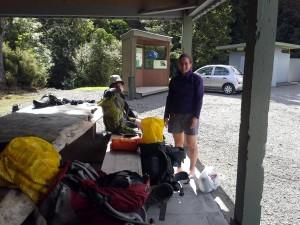 Drying out in the sunshine at Kiriwhakapapa