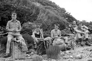 tramping 1960s