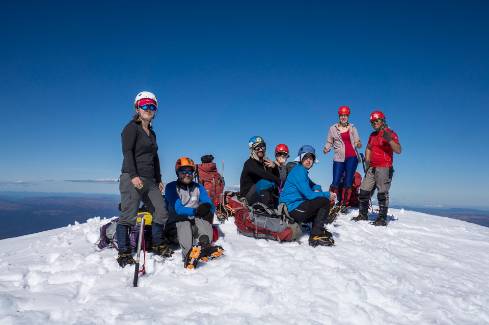 Te Heu Heu, Ruapehu, summit