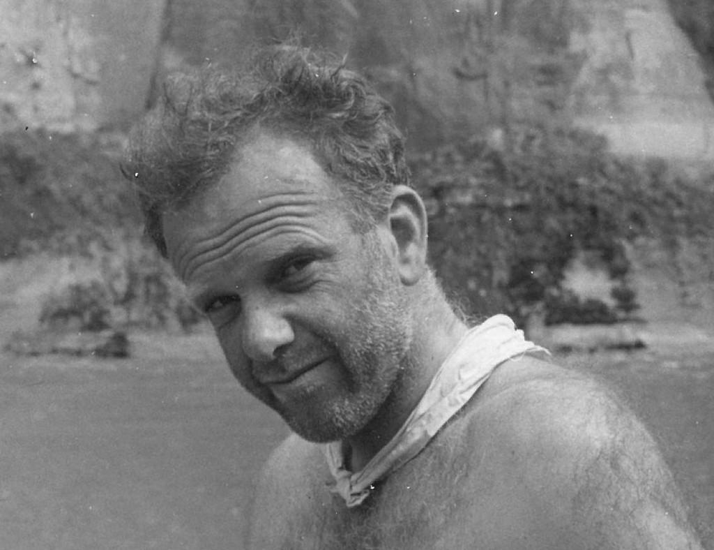 Nick Jennings, Whanganui Kayak trip, 1960s