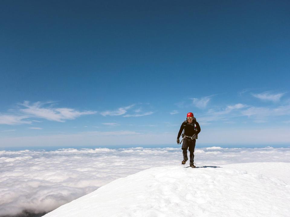 Taranaki, Mt Egmont, summit