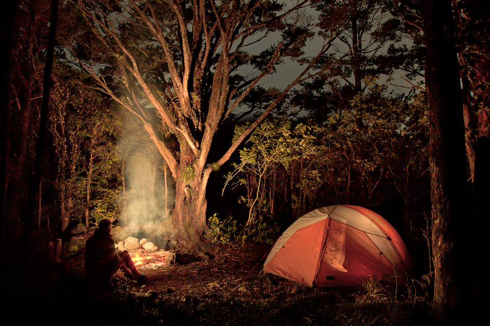 Totara Flats, camping, Tararuas, Tararua Range, Tararua Forest Park