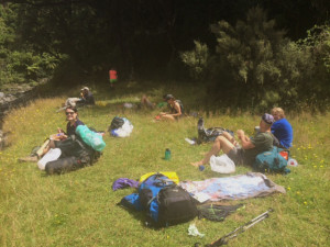 Resting by the Waingawa River