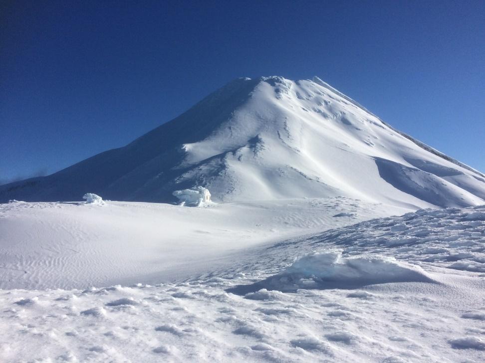 Mt Taranaki (Sunday morning)