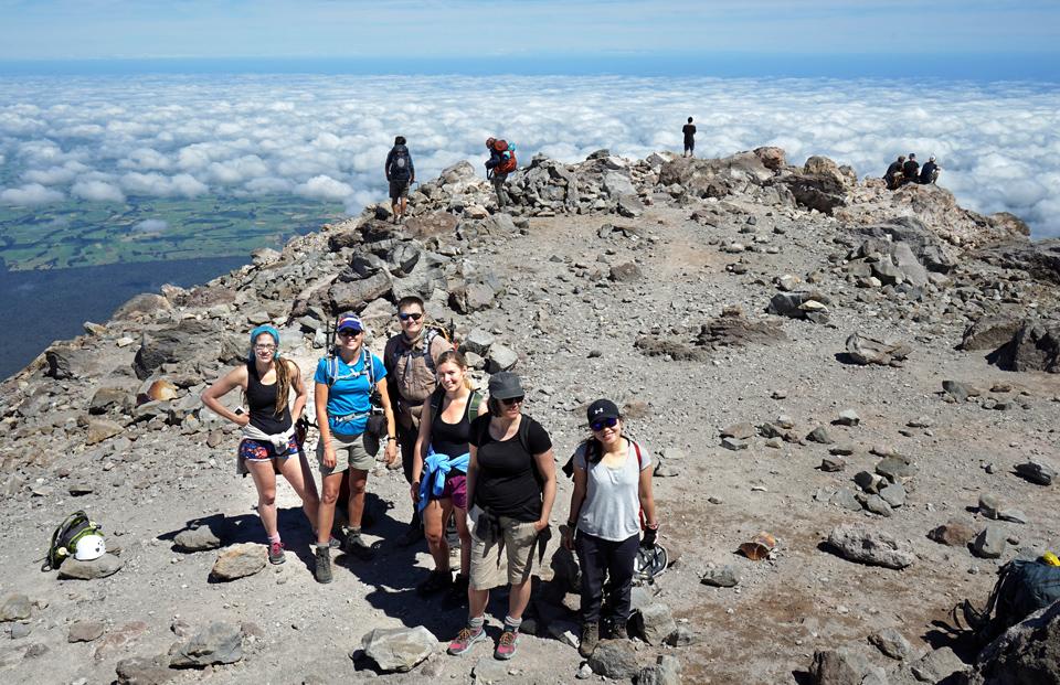 Taranaki summit