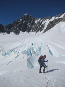 winter alpine ascent