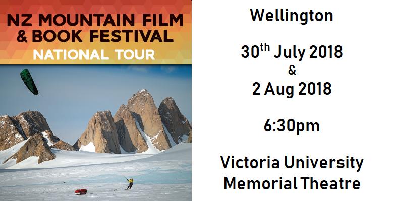 Best of NZ Mountain Film Festival 2018 Wellington