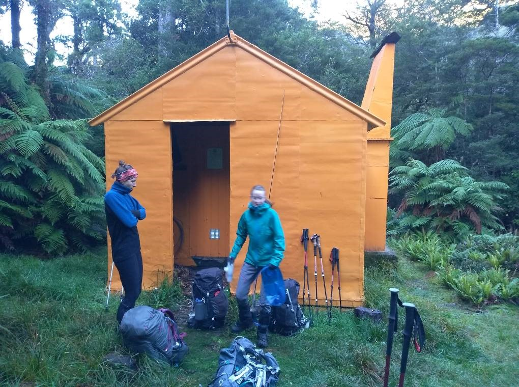 Mid Waiohine Hut is a lovely old shelter by the river.Neill Forks Hut