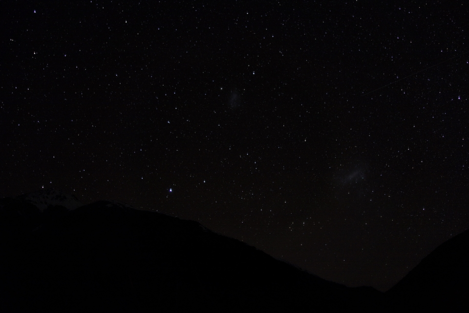 Large and small Magellanic Clouds, Canterbury