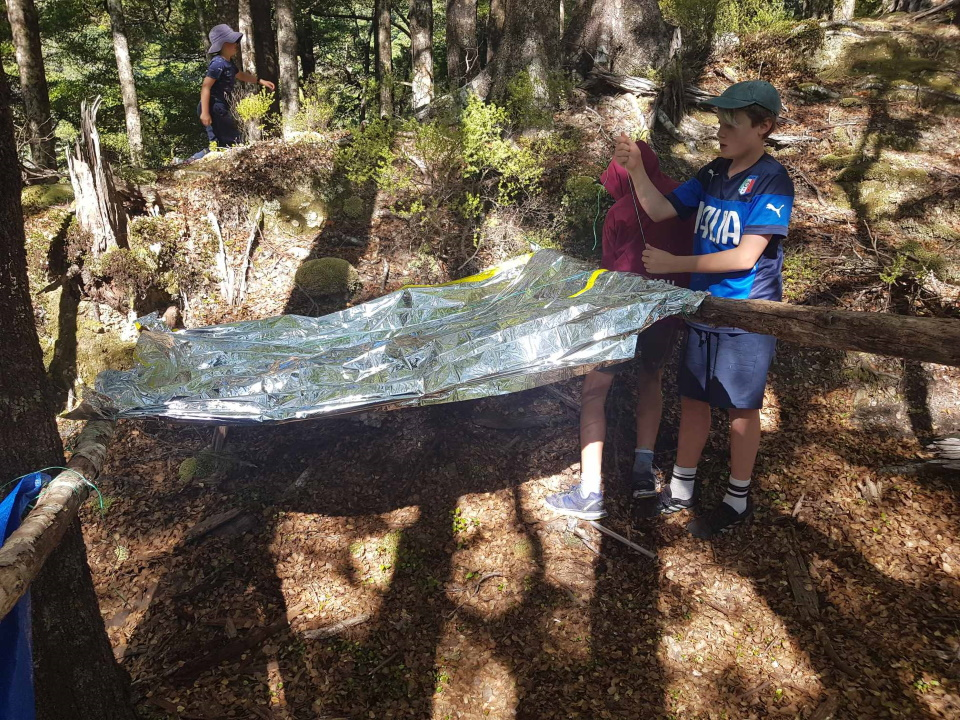 Constructing an emergency shelter