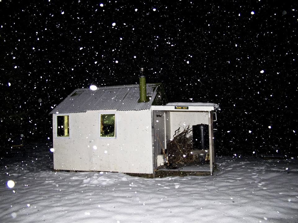 Tarn Hut in the Richmond Range