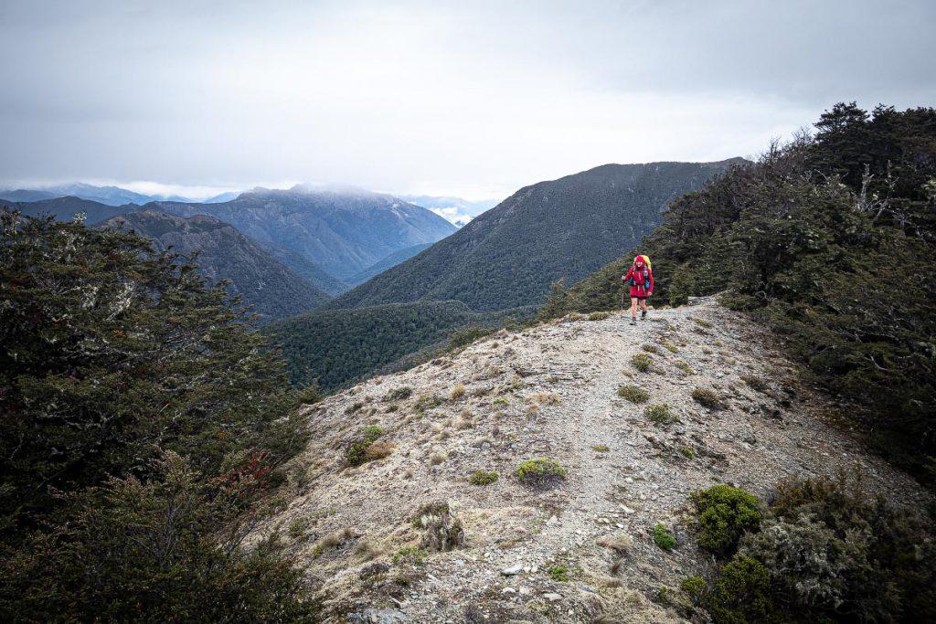 On the ridge to Old Man
