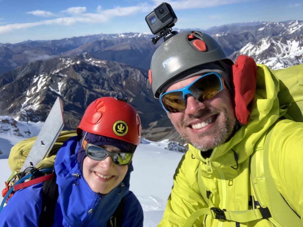 15.Summit selfie on Rolleston High Peak, 4 years and 1 month after setting eyes on it!