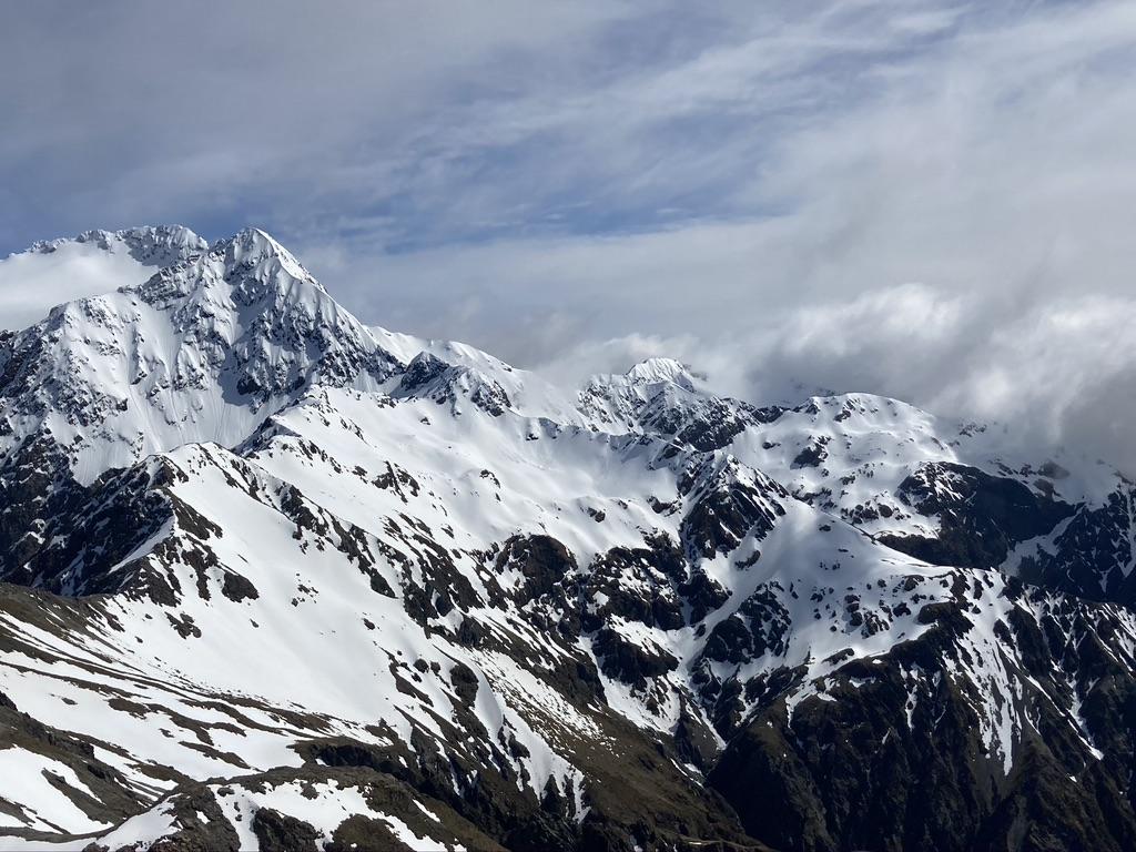 Full length of Rome Ridge. Glldney Ridge just beyond