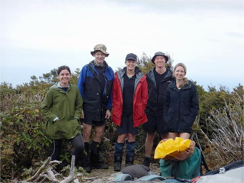 Summit Mt Matthews