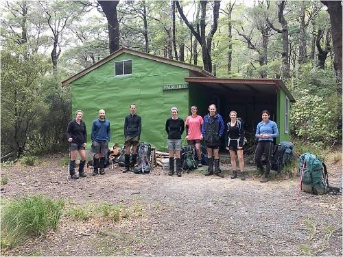 Groups at Paua Hut