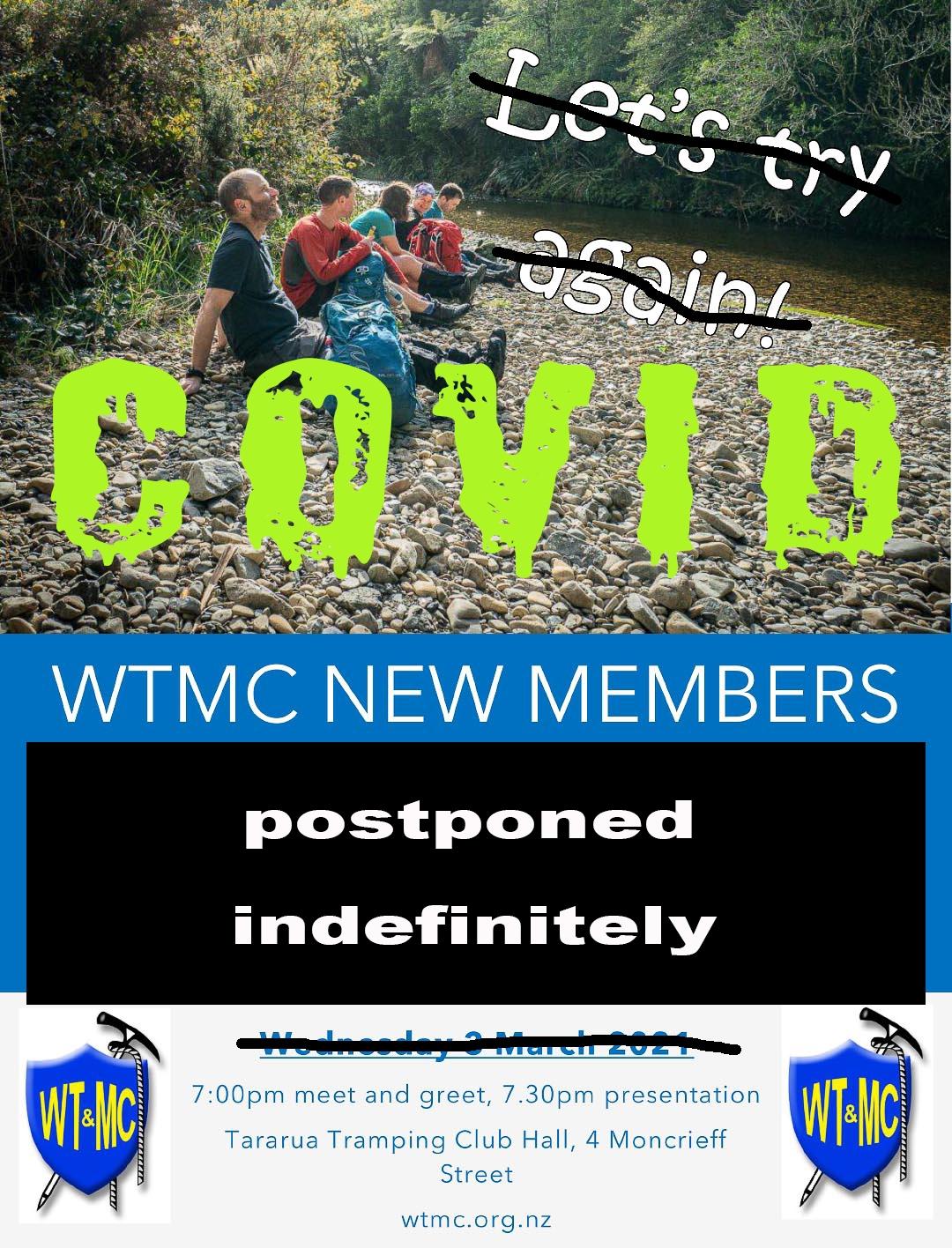 New members night flyer