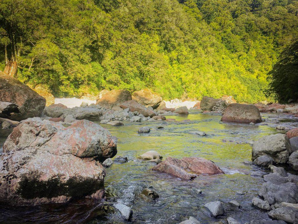 Boulders in the Waingawa River