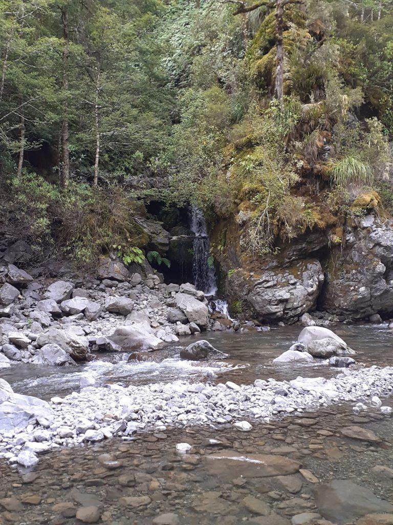 Irongate Hut waterfall