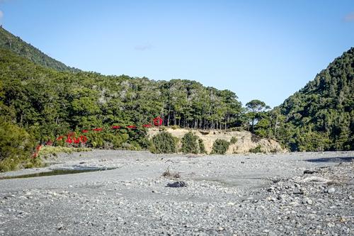 Location of Paua Hut