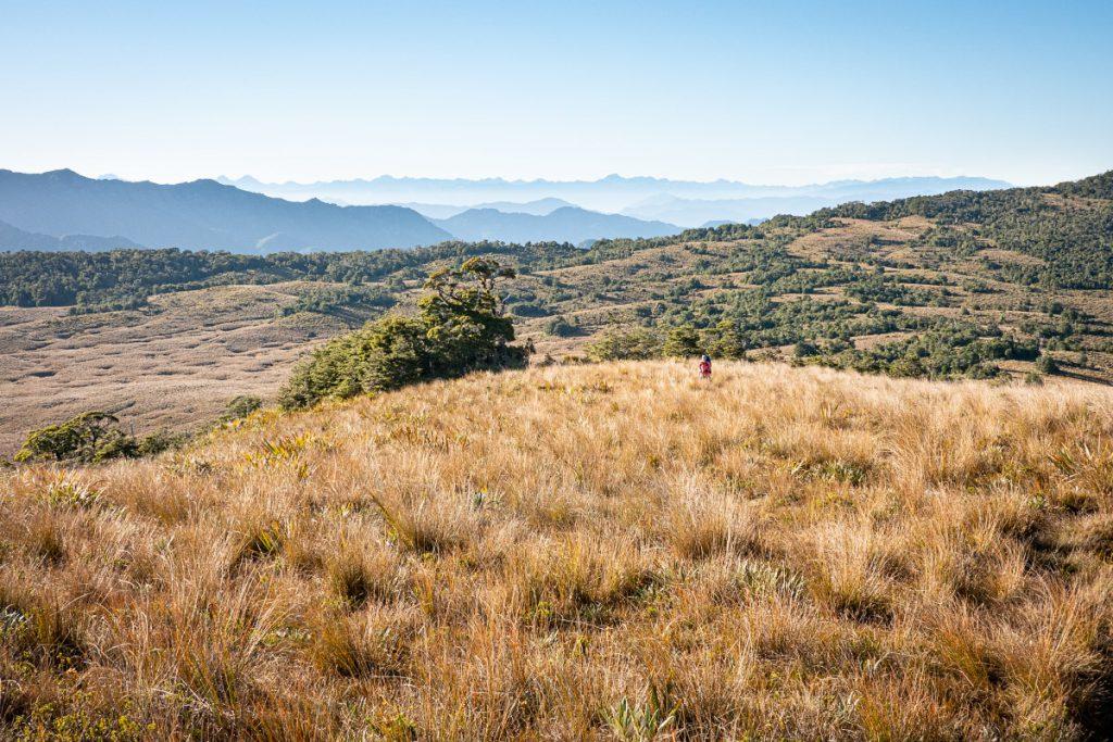 The end of the 1000 Acre Plateau plateau