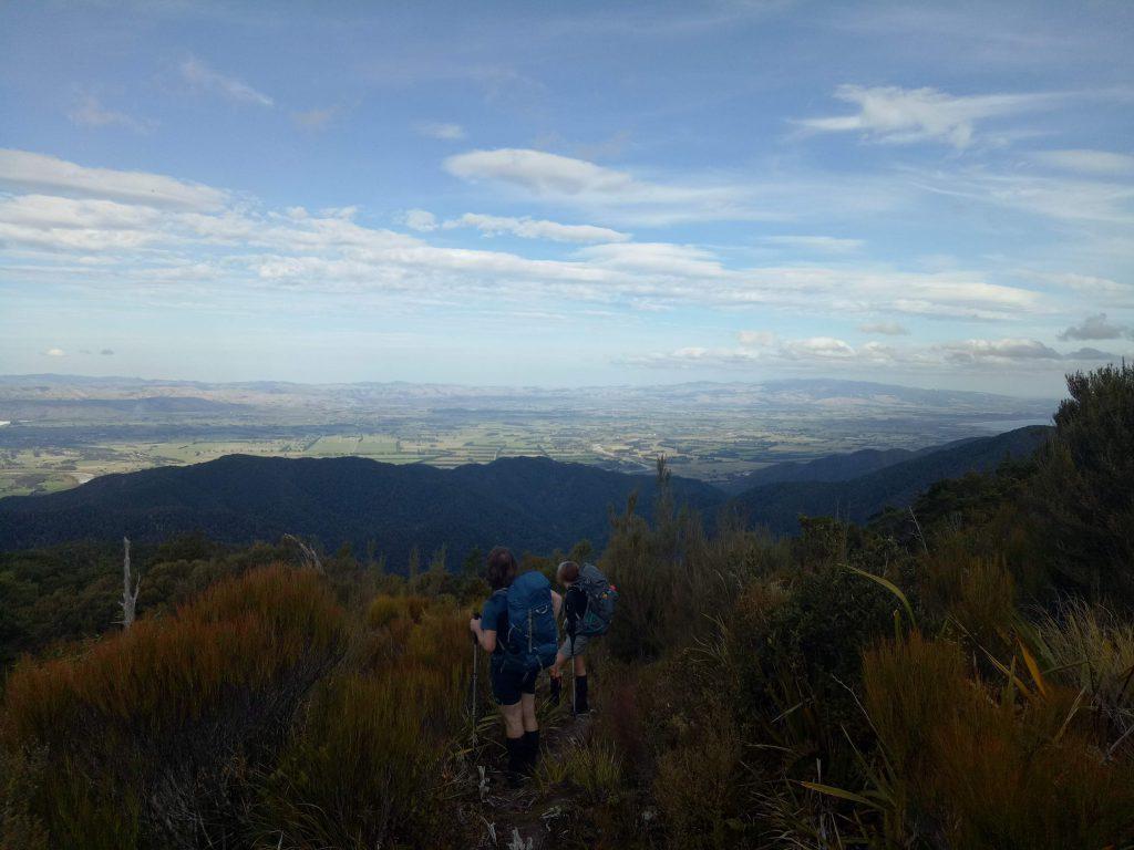 Looking over the Wairarapa