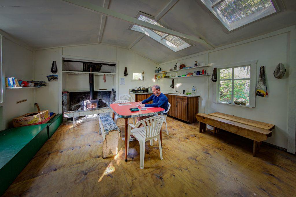 WTMC Paua Hut interior