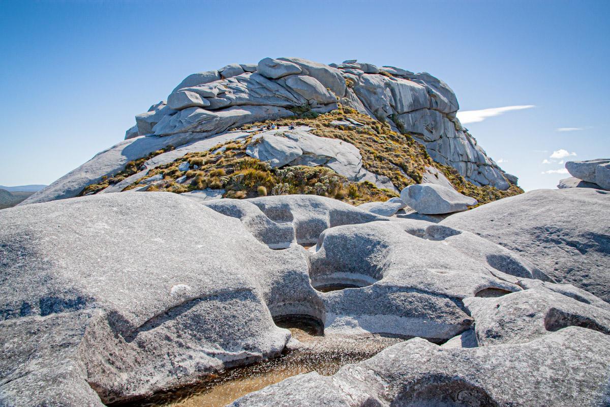 Beneath the summit of Magog
