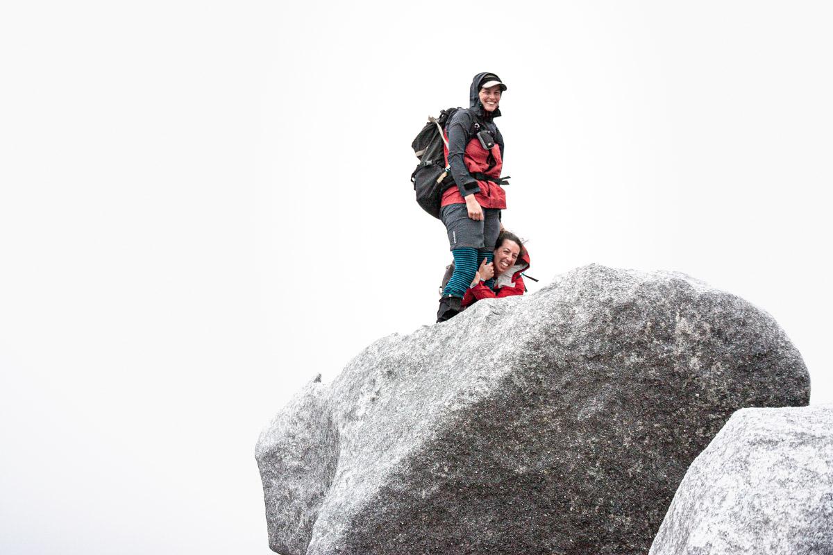 The windy summit of Magog